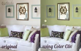 color clix how to virtually re paint your room honeybear