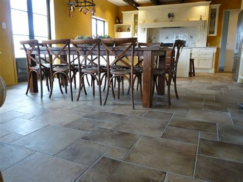 Dining Room Tile Residence Dining Room Modular Origine Floor Tiles Mediterranean Wall And Floor