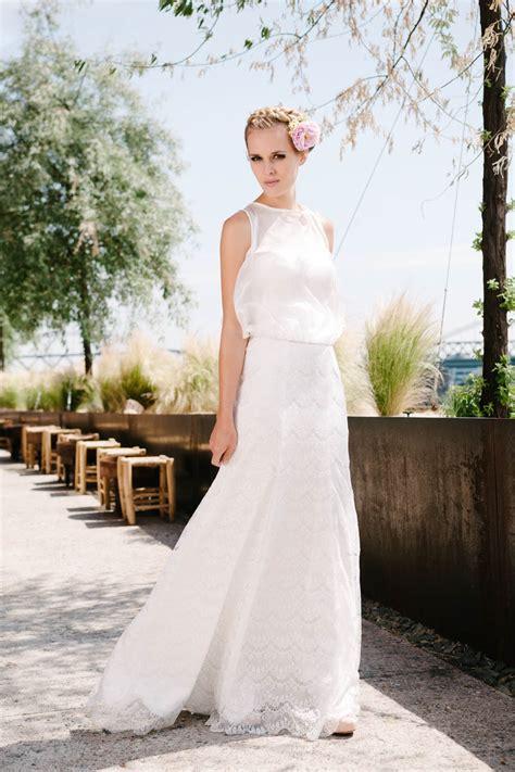 Brautkleider Oben Spitze by Hochzeitskleid A Linie Aus Wellenf 246 Rmiger Spitze Kate