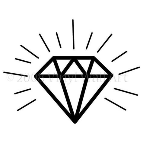diamond tattoo easy diamond tattoo fort apache pinterest simple the o