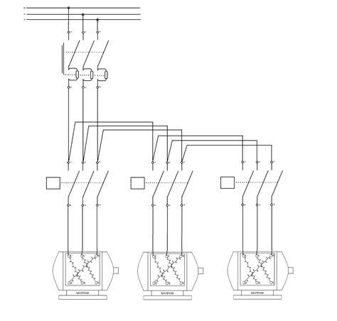 wiring diagram motor listrik 3 phase images wiring