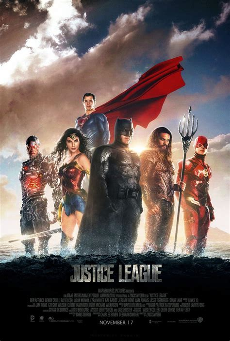 Dc Justice League 2017 justice league 2017 poster 2 by camw1n justice league justice league comic