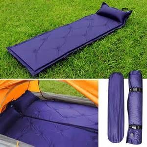 self inflating air mattress sleeping pad