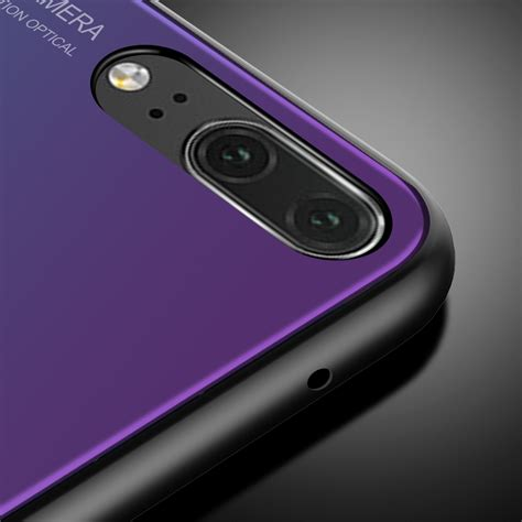 soft for huawei p20 lite cases luxury gradient