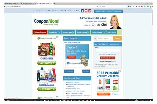 coupon order sites