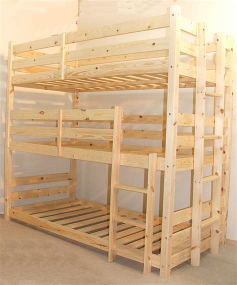 Triple Sleeper Bunkbeds Uk Triple Sleeper Bunk Beds