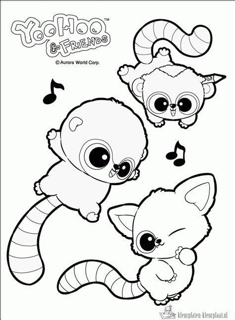 Yoohoo And Friends Coloring Pages kleurplaten yoohoo kleurplaten kleurplaat nl