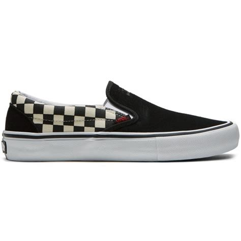Vans X Thrasher Slip On Pro Checkerboard vans x thrasher slip on pro shoes