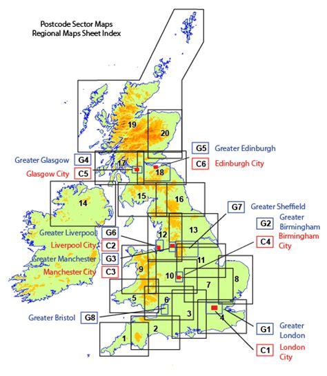 printable area in dtp uk postcode areas geo pdf