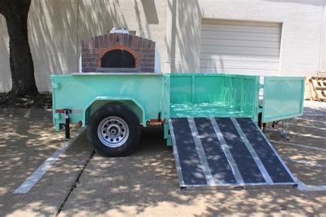 mobile wood fired oven mobile wood fired ovens and trailer pizza ovens the