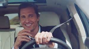 new lincoln car commercial matthew mcconaughey signs multi year deal to be of