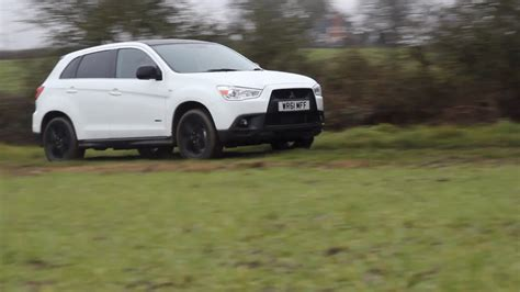 black mitsubishi asx car throttle mitsubishi asx black edition review youtube
