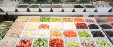 Toppings For Salad Bar by Custom Made Salads The Marketplace At Guilford Food Center
