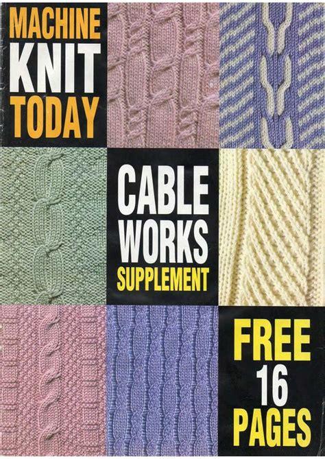 Machine Knitting Patterns To