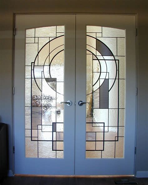 custom door glass crafted custom stained glass in doors by