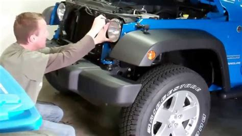 2012 jeep wrangler episode 1 grill removal and ipf