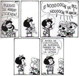 imagenes navidad mafalda mafalda y la navidad entre el caos y el orden magazine