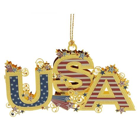 Handcrafted In The Usa - usa 3d ornament handcrafted in the usa item 54437