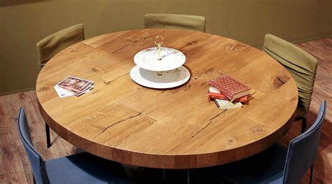tavolo rotondo legno tavolo rotondo in legno rovere con venature lago air lago