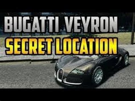 gta 5: free bugatti veyron! (gta v rare car secret