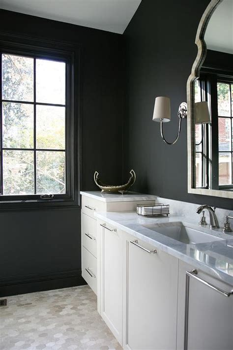 black bathroom walls black bathroom walls home design
