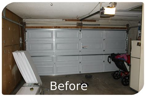 how to insulate a garage door garage door wall and attic insulation ecosystems