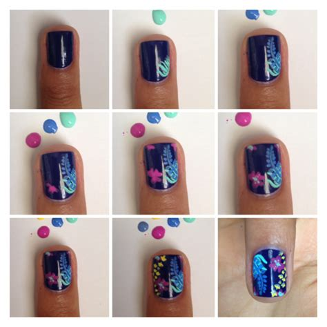 tutorial nail art instagram beautiful summer nail tutorials styles weekly