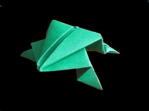 Origami Jumper - easy origami folding