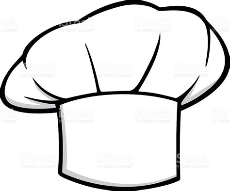 coloring page of a chef hat chef hat clipart modafinilsale