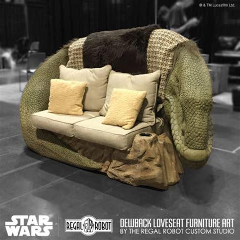 star wars sofa kick back and relax on a star wars dewback sofa nerdist