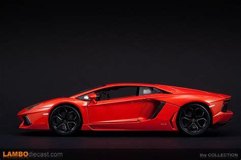 2nd Lamborghini Lamborghini Aventador 1 18 Arancio Argos Bburago 2nd