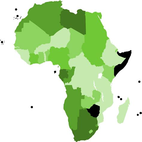 africa map free vector africa map logo clipart best