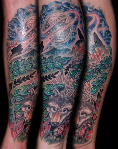 howl gallery tattoo howling wolves by marvin silva tattoonow