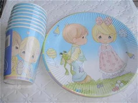 precious moments party supplies plates cups baby shower ebay