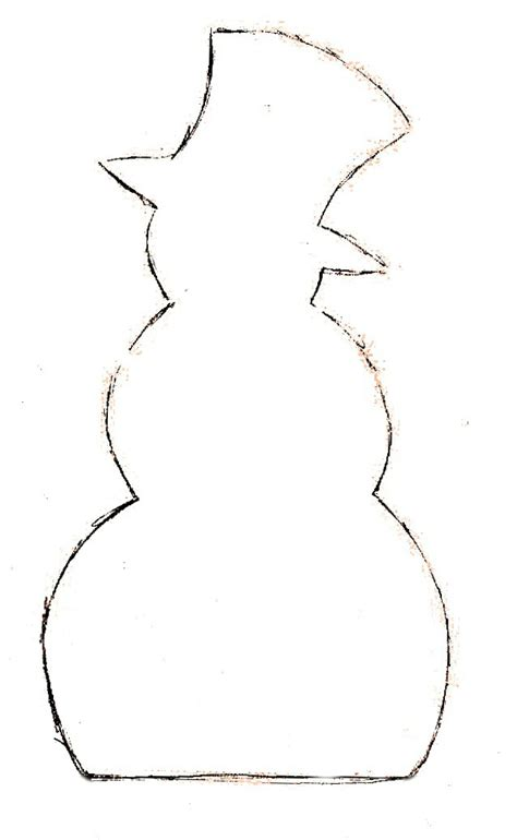 snowman templates to cut out make it with me snowman place card holders