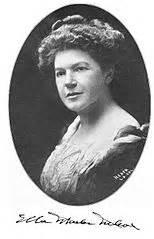 ella wheeler wilcox, famous poet family friend poems