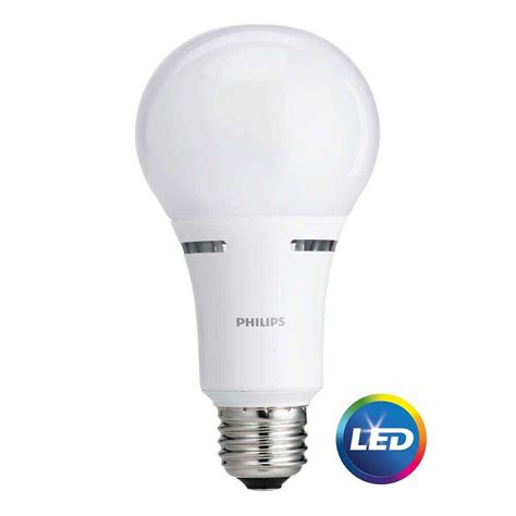 Led Light Bulbs For 3 Way Ls by Philips Led 3 Way Light Bulb A21 Soft White 50 100 150