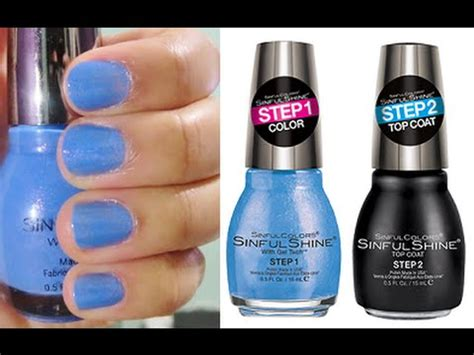 sinful colors gel tech sinful colors sinful shine with gel tech nail top