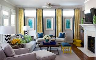 Living Room Ideas With Blue And Yellow Yellow And Blue Interiors Living Rooms Bedrooms Kitchens