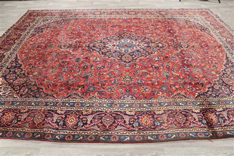 9 x 12 rugs clearance clearance 9x12 mashad area rug wool carpet 12 6 quot x 9 2 quot ebay
