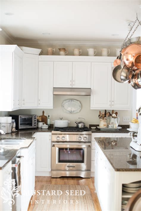 100 what to do with the space above kitchen cabinets