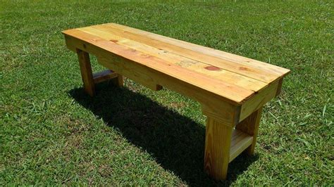 pallet benches diy wood pallet garden bench 99 pallets