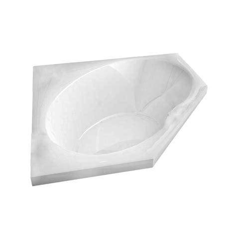 corner bathtub home depot universal tubs mali 5 ft acrylic center drain corner