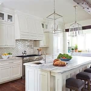 Herringbone Kitchen Backsplash by Herringbone Pattern Backsplash Design Ideas