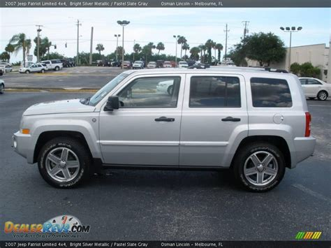 2007 Jeep Patriot Limited 4x4 Bright Silver Metallic