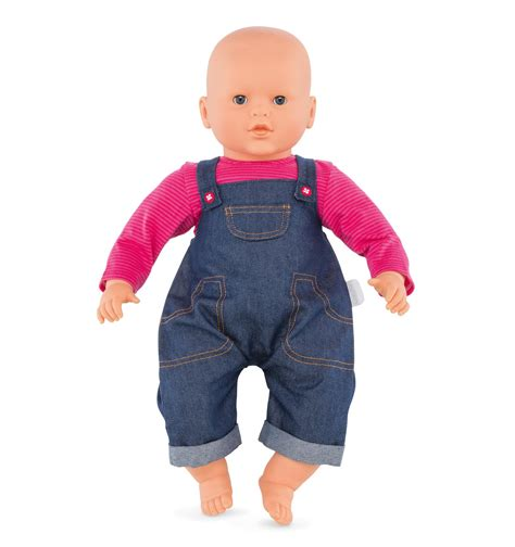 Denim Babby Doll denim overalls set for 17 inch baby doll corolle 174 w90430