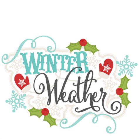 scrapbook title for christmas foods on the table winter weather svg scrapbook title winter svg cut file snowflake svg cut files for cricut