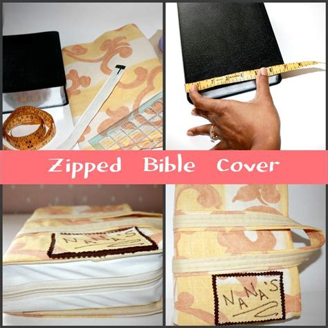 sewing pattern for zippered bible cover zipped bible cover search collage and scriptures