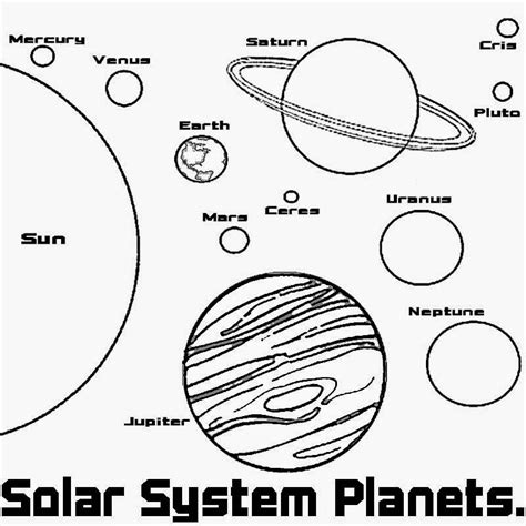 Planet Coloring Pages With The 9 Planets free coloring pages printable pictures to color drawing ideas planet and space solar