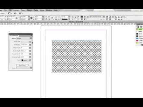 pattern maker in youtube indesign pattern paneli ekleme pattern maker ve barcode